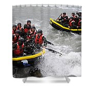 Buds Participate In Rock Portage Shower Curtain