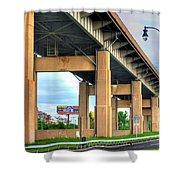 Buffalo Skyway Shower Curtain