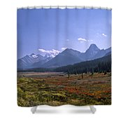 Bugaboo Valley Shower Curtain