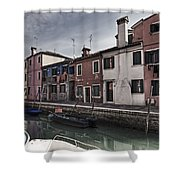 Burano - Venice - Italy Shower Curtain