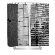 Business Center Shower Curtain