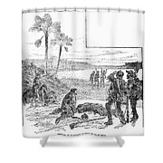 Cabeza De Vaca Shower Curtain
