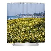 California Wildflowers Shower Curtain