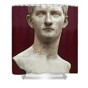 Caligula (12-41 A.d.) Shower Curtain