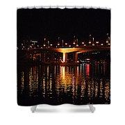 Cambie Street Bridge Shower Curtain