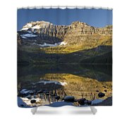 Cameron Lake, Waterton, Alberta, Canada Shower Curtain