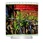 Cape Cod Bike Shower Curtain