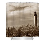 Cape May Lighthouse Shower Curtain