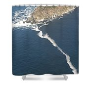 Cape Point, The Dividing Point Shower Curtain