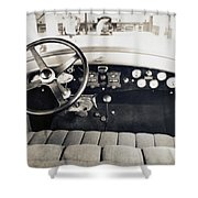 Car Radio, C1940 Shower Curtain