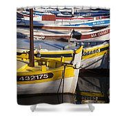 Cassis Boats Shower Curtain