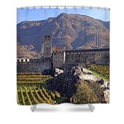 Castelgrande - Bellinzona Shower Curtain