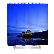 Castle In Scotland Shower Curtain