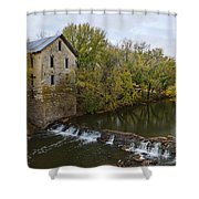 Cedar Point Mill Shower Curtain