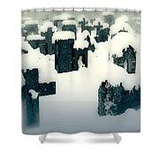 Cemetery Shower Curtain