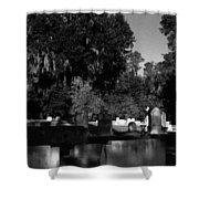Cemetery Natchez Mississippi Shower Curtain
