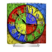 Changing Times Shower Curtain