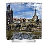 Charles Bridge - Prague Shower Curtain
