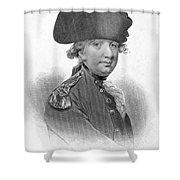 Charles Cornwallis Shower Curtain