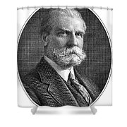 Charles Evans Hughes Shower Curtain