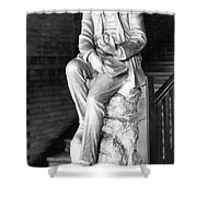 Charles Martin Hall, American Inventor Shower Curtain