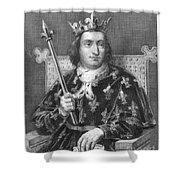 Charles V (1337-1380) Shower Curtain