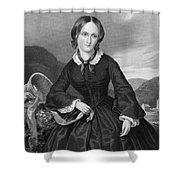 Charlotte Bront� Shower Curtain