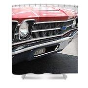 Cherry Chevelle Shower Curtain
