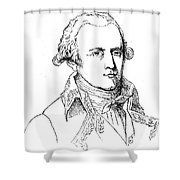 Chevalier De Lamarck Shower Curtain by Granger