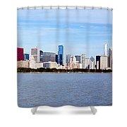 Chicago Panorama Shower Curtain