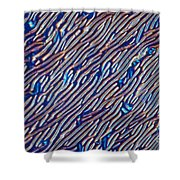 Cholesteric Liquid Crystals  Shower Curtain