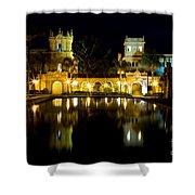 Christmas On The Prado Shower Curtain