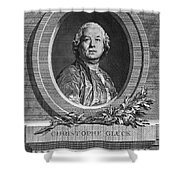 Christoph Willibald Gluck Shower Curtain