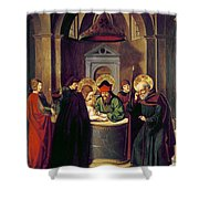 Circumcision Of Christ Shower Curtain