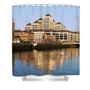 City Of Dublin Shower Curtain