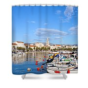 City Of Split In Croatia Shower Curtain