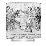 Civil War: Copperhead, 1863 Shower Curtain