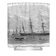 Civil War: C.s.s. Florida Shower Curtain