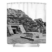 Civil War: Drewrys Bluff Shower Curtain