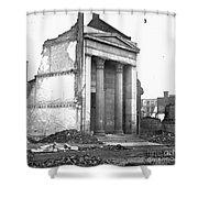 Civil War: Fall Of Richmond Shower Curtain
