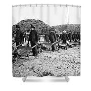 Civil War: Georgia, 1864 Shower Curtain