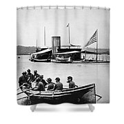 Civil War: Monitor Shower Curtain