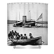 Civil War: Monitor Shower Curtain