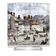 Civil War: Richmond, 1862 Shower Curtain