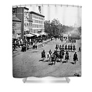 Civil War: Union Army Shower Curtain