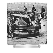 Civil War: Union Fort Shower Curtain