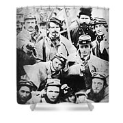Civil War Volunteers 1861 Shower Curtain