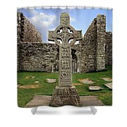Clonmacnoise, Co. Offaly, Ireland Shower Curtain