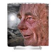 Close-up Profile Robert John K. Shower Curtain