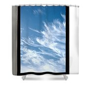 Cloud Computing Shower Curtain by Photo Researchers